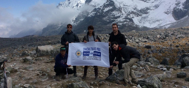 hiking Salkantay  and Machupicchu in 5 days