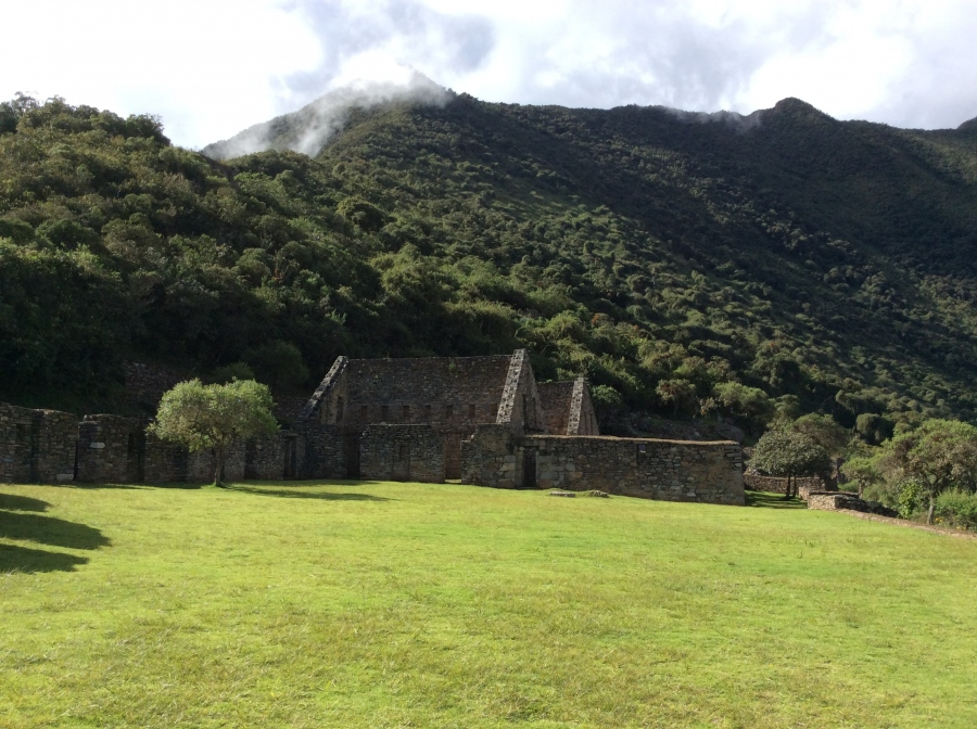Choquequirao Inca site trip in 4 days Peru