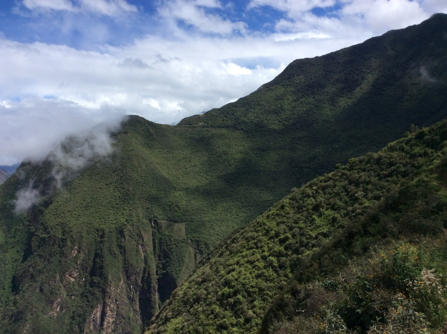 trekking the Choquequirao Inca fortress in Cusco Peru