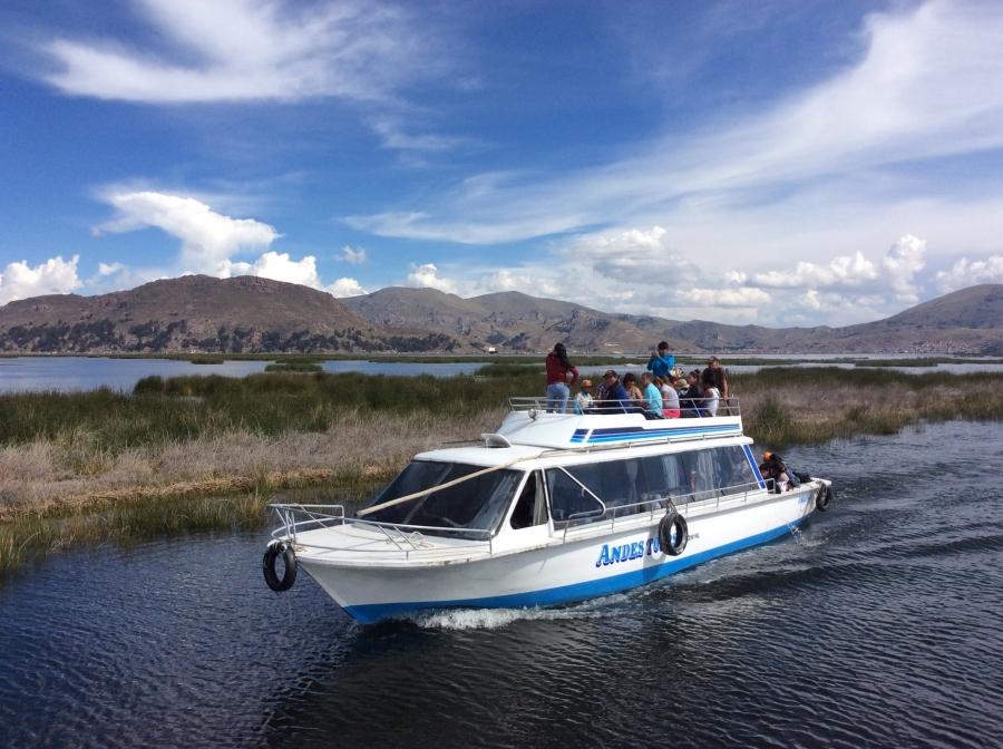 Puno Uros island Peru tour