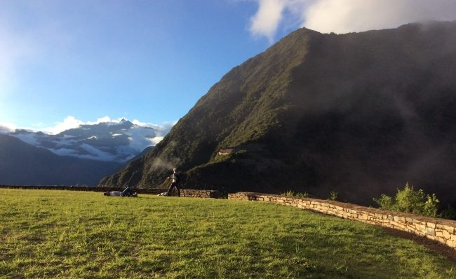 Trekking Choquequirao Inca site from Cusco Peru