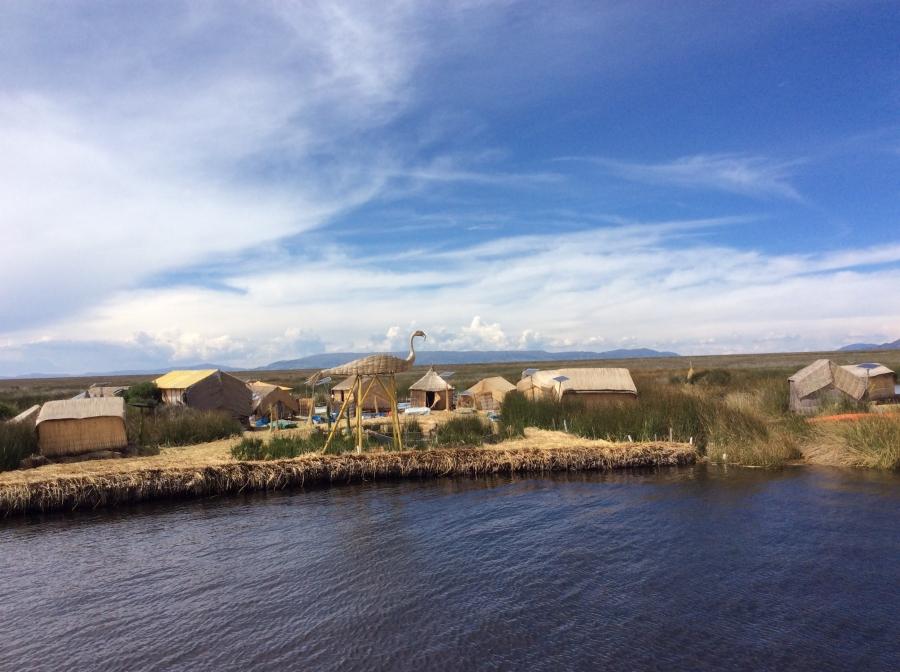 Uros Puno island Peru tour