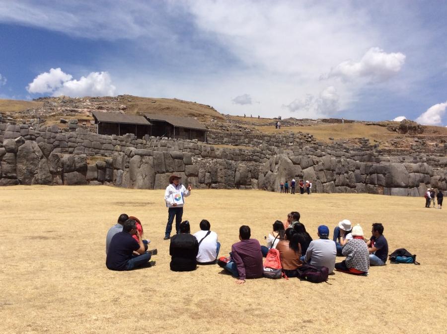 Sacsayhuaman Inca site tour in Peru
