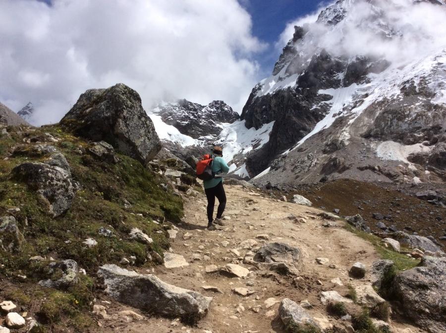 trekking to Salkantay trail in Cusco Machupicchu