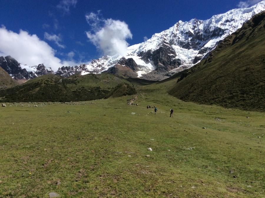 Trek to Salkantay with Machupicchu