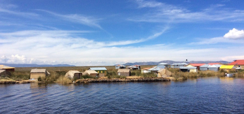 Island Uros tour Puno Peru