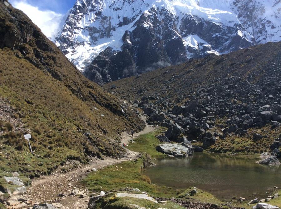 Hike Salkantay trail in 5 days Machupicchu