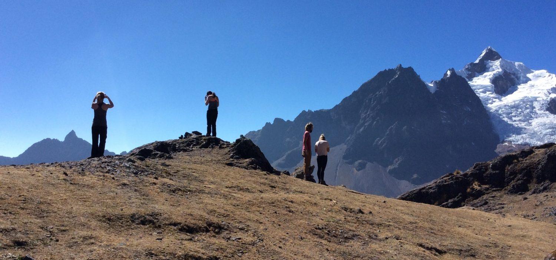 trekking Lares mountains Peru