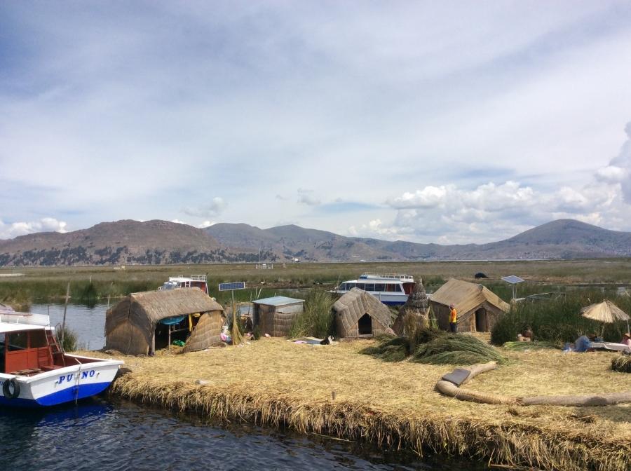 Lake Titicaca tourism in Peru Puno