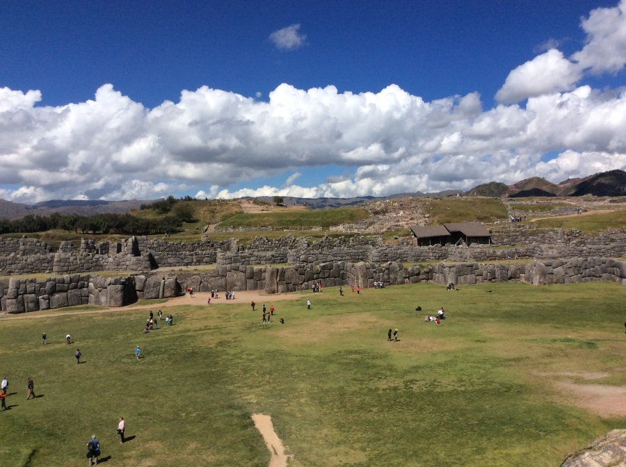 Peru travel with Sacsayhuaman Inca site tour