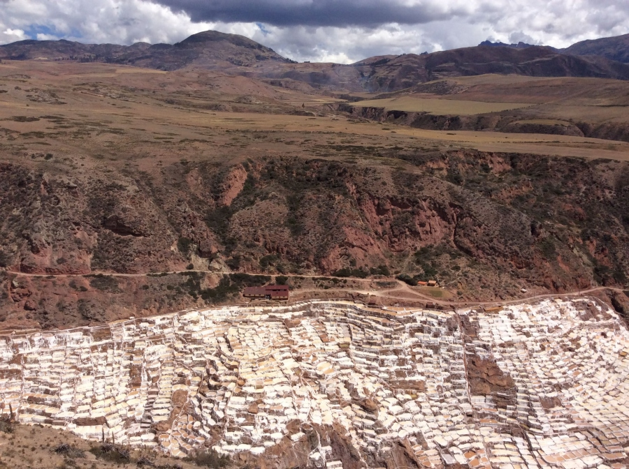 Day tour to Maras salt mine in Cusco Peru