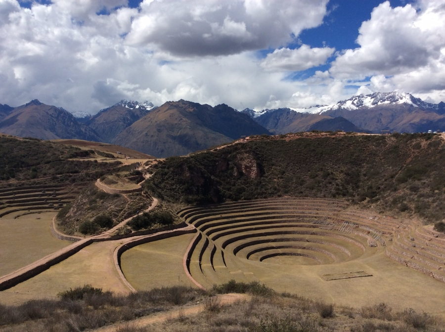private day tour to Moray Inca site Cusco Peru