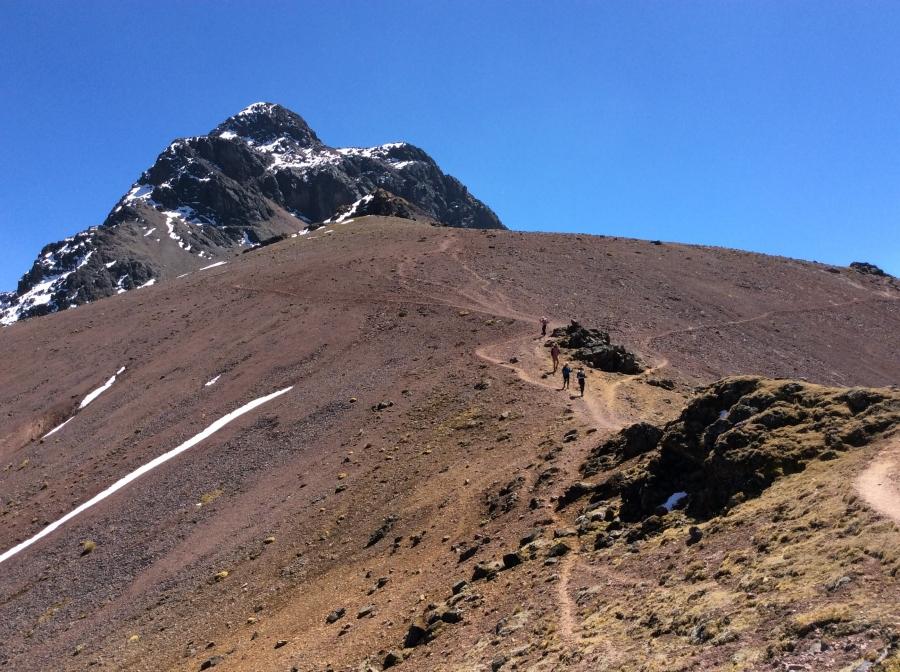 Lares trail adventure in Peru to Machupicchu