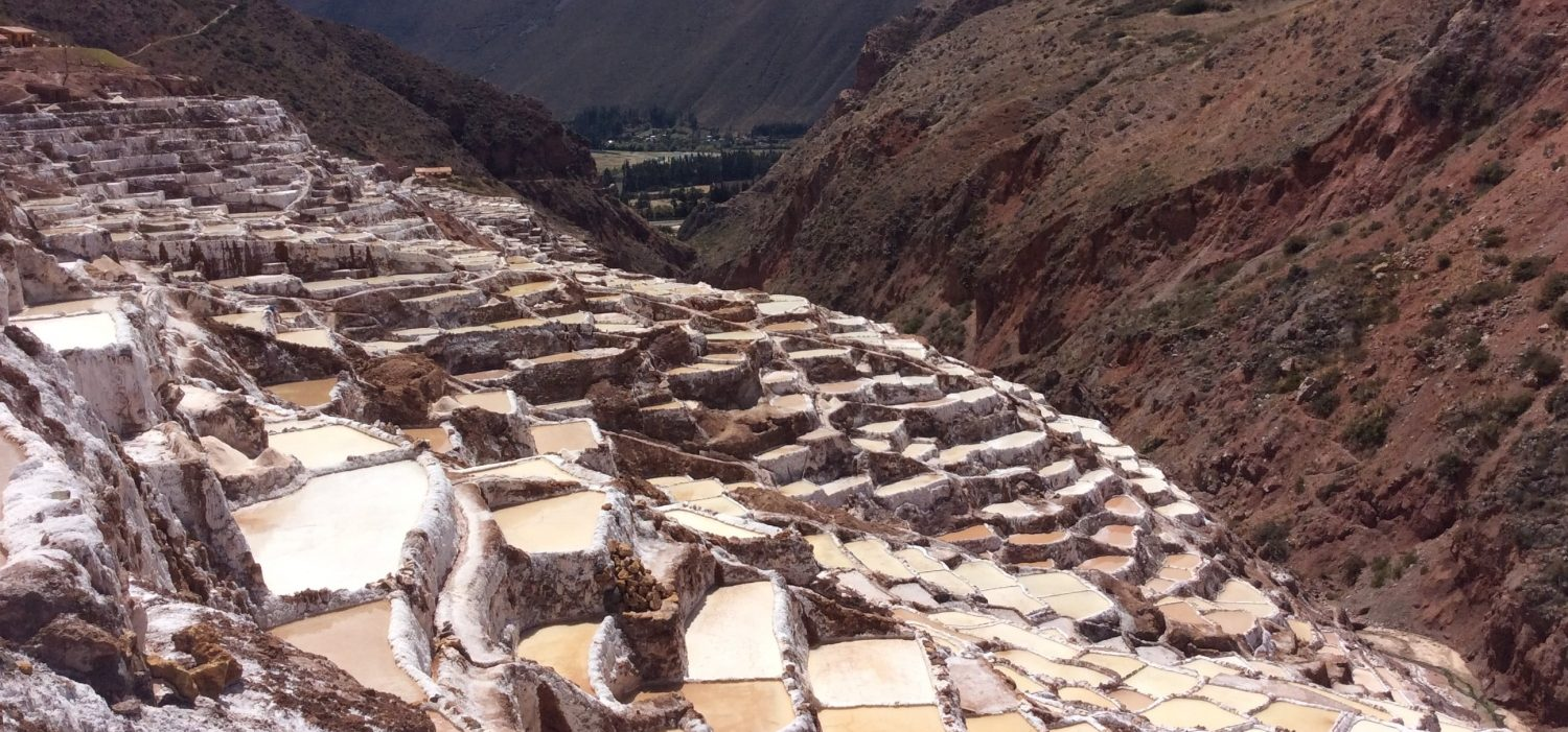 Maras salt mine day tour in Cusco Peru