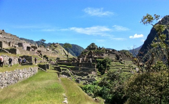 Machupicchu trip with Inca jungle hike