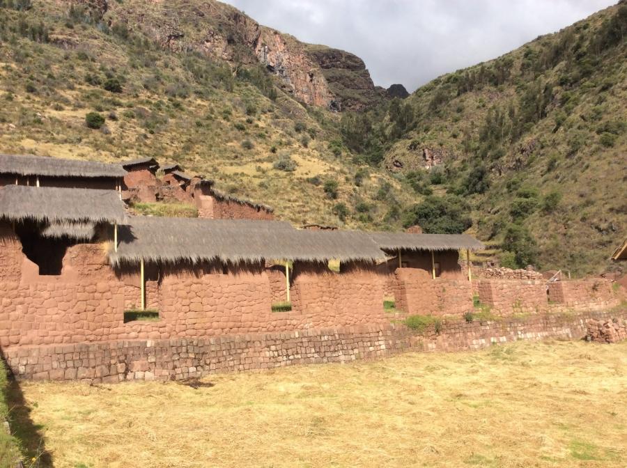 Huchy Qosqo Inca site with trekking