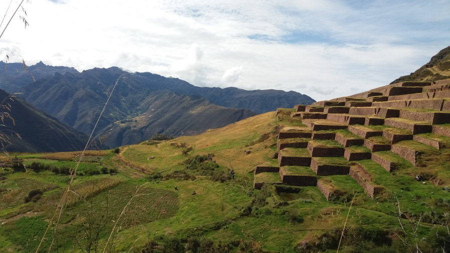 Huchuy Qosqo Inca fortress with horseback riding