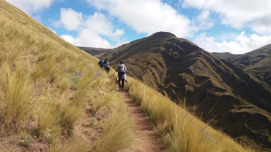 Huchuy Qosqo trekking from Cusco