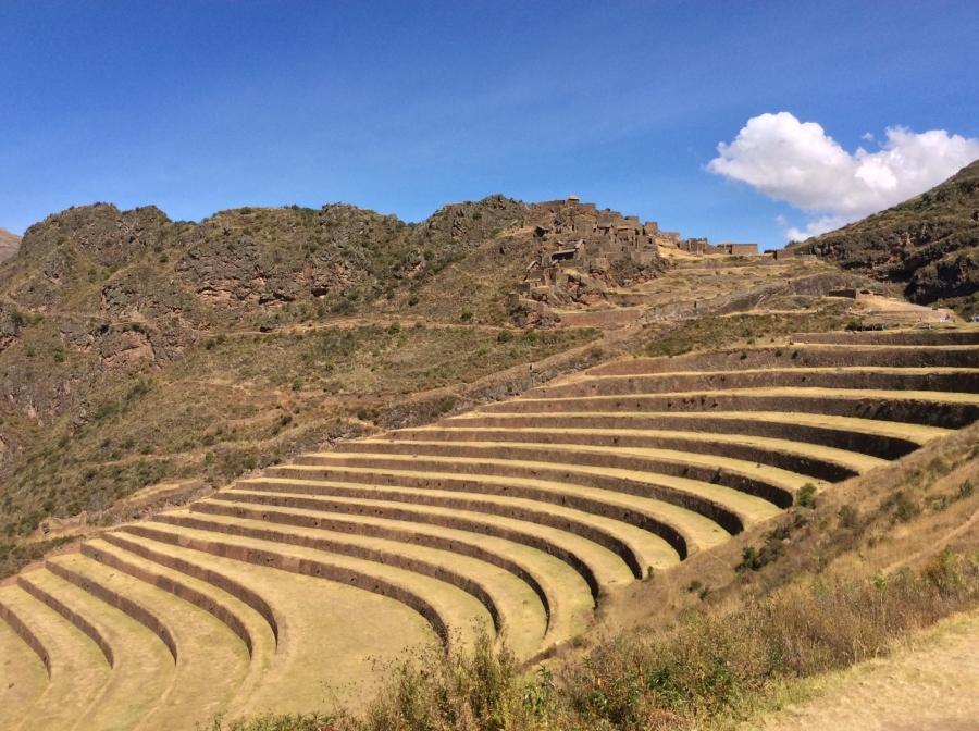 Pisaq Inca site in Peru tours