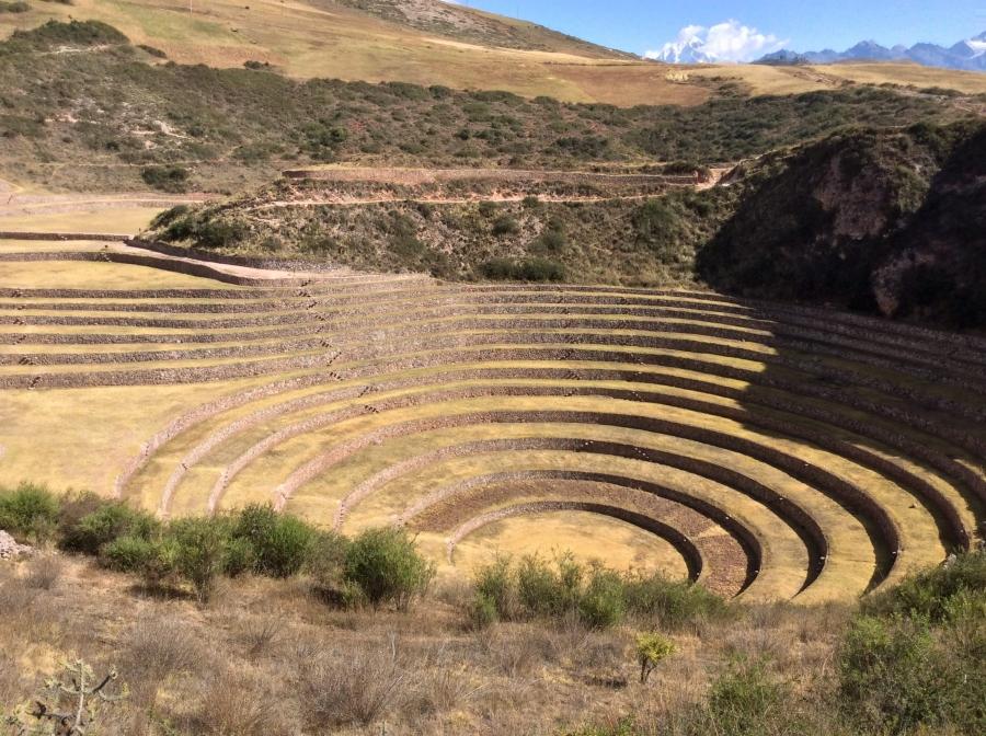 Moray Inca site tour in Peru trip for 8 days