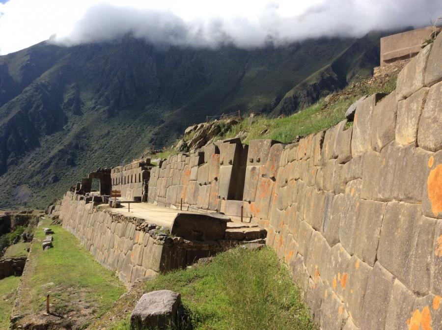 Ollantaytambo Inca site tour in Peru trip 15 days