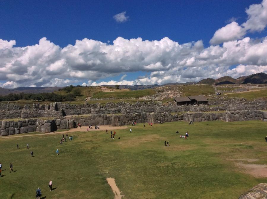 Saqsayhuaman Inca site tour in Peru trip