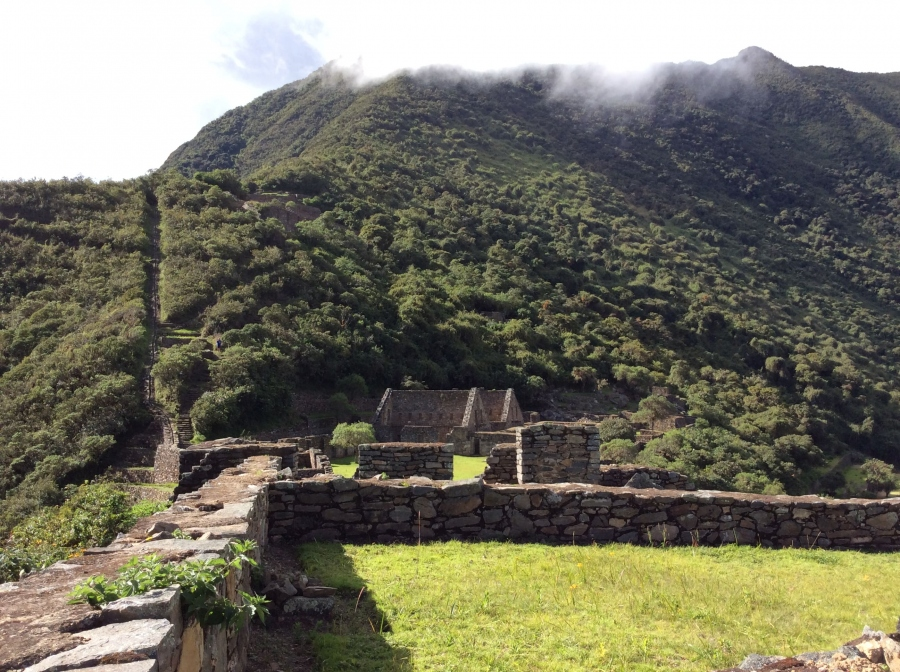 Trekking to Choquequirao in Cusco Peru