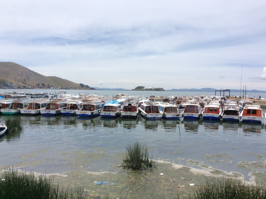 Uros island day tour lake Titicaca Puno
