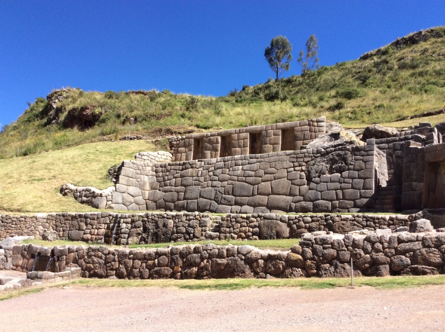 Tambomachay Inca site with best Peru tours