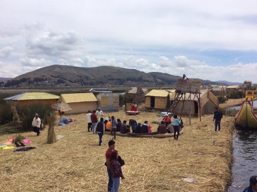 two days tour for lake Titicaca Puno Peru