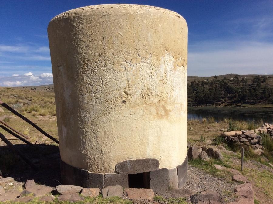 Sillustani trip in Puno Peru