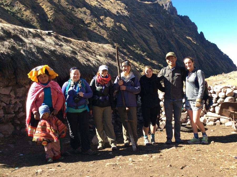 hiking Ausangate Cusco Peru