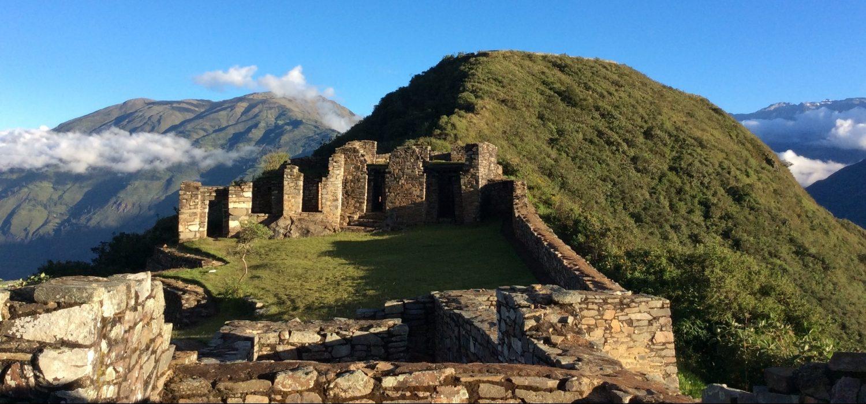 Choquequirao Inca site with hiking to Machupicchu