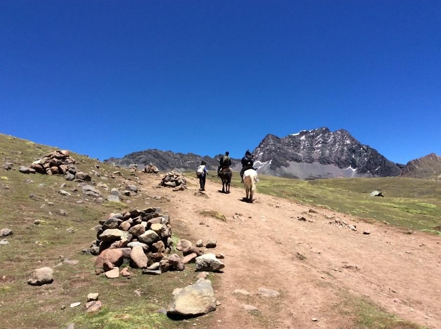 trek Lares horseback Peru