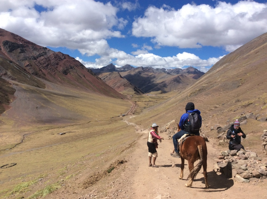 trekking Lares with horseback riding Peru