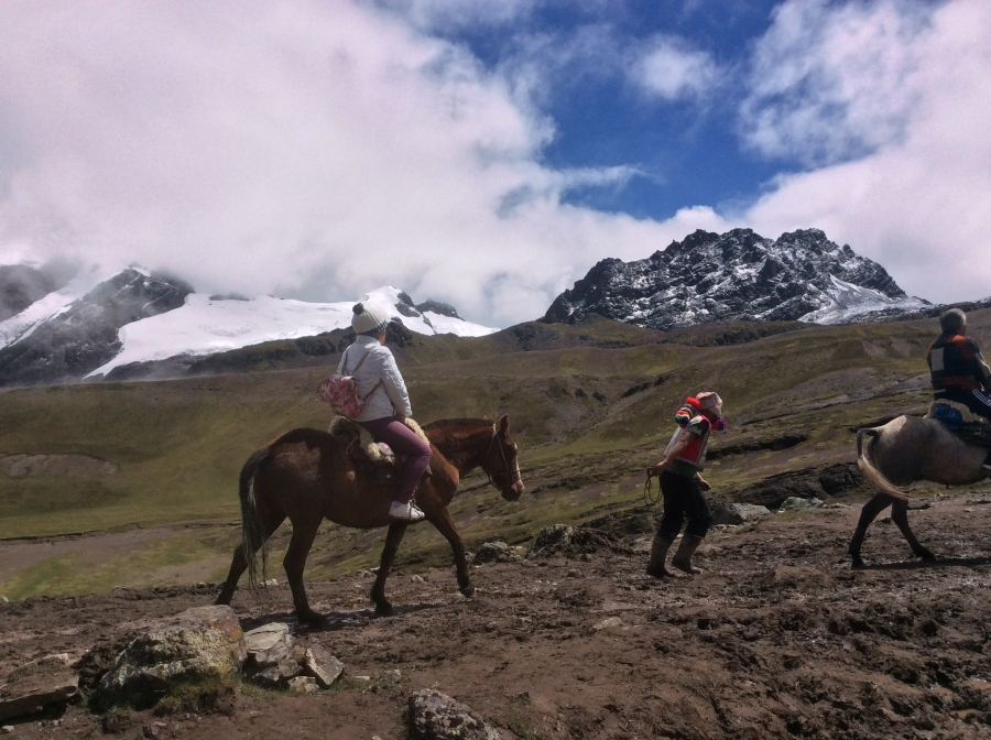 Lares trekking with horseback riding from Cusco