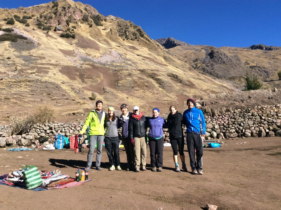 Lares trek adventrure with biking in Peru