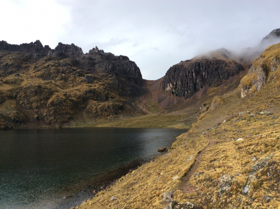 Lares trek in Peru with biking