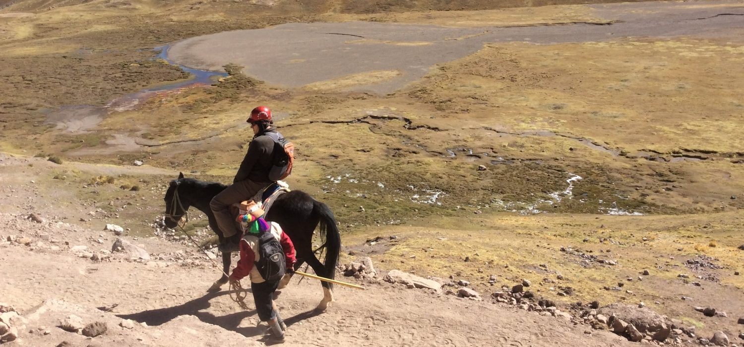 Lares trek trip with horseback riding Peru