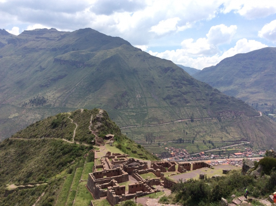 Pisac Inca site tour in Peru package trip