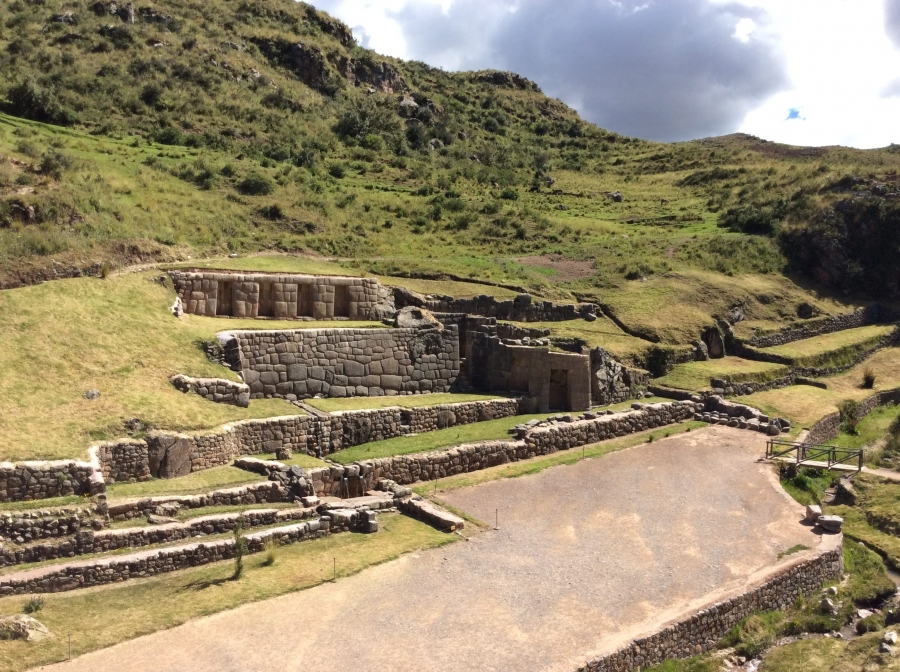 Tambomachay Inca site tour with Peru package trip