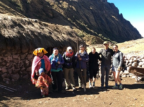 day trip for Lares trek by car from Cusco