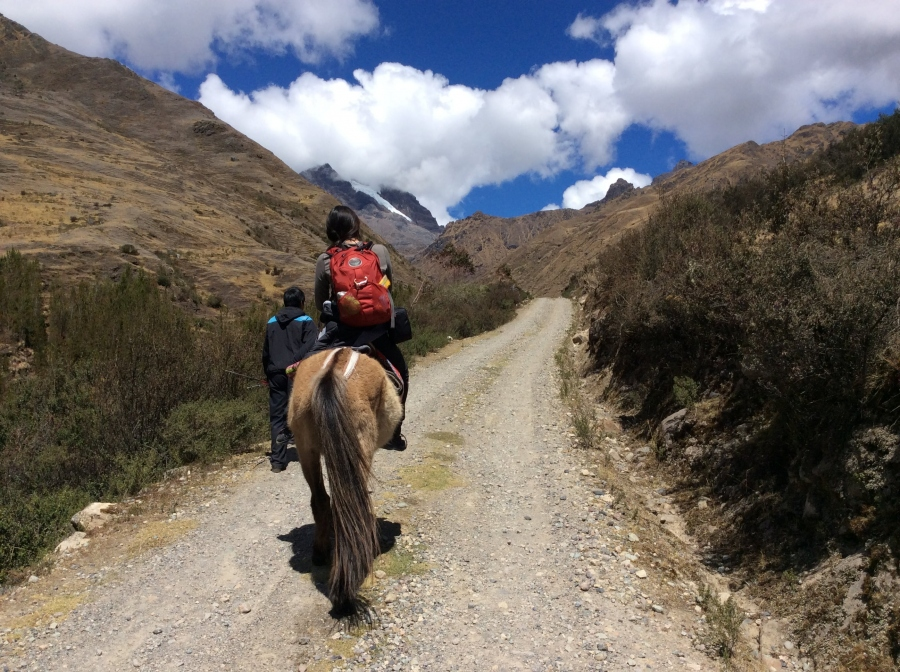 horseback riding Lares from Cusco