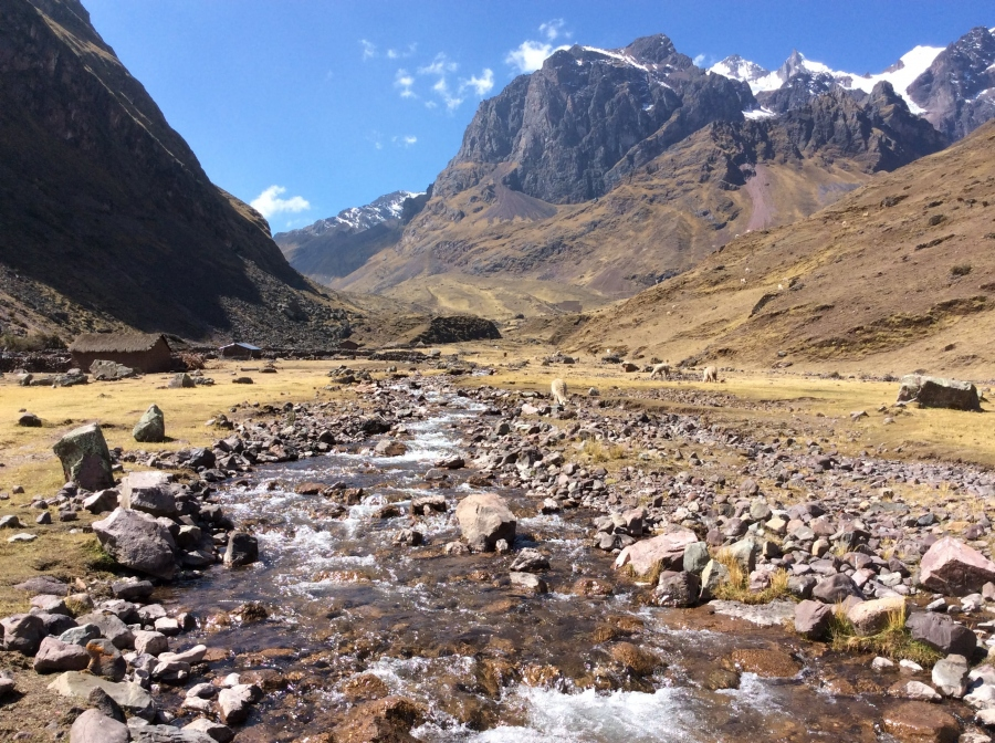 trip to Lares trek with biking in Peru