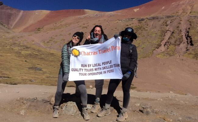 4 days trek rainbow mountain Cusco Peru
