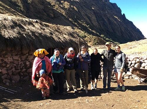Ausangate adventure trek in Peru