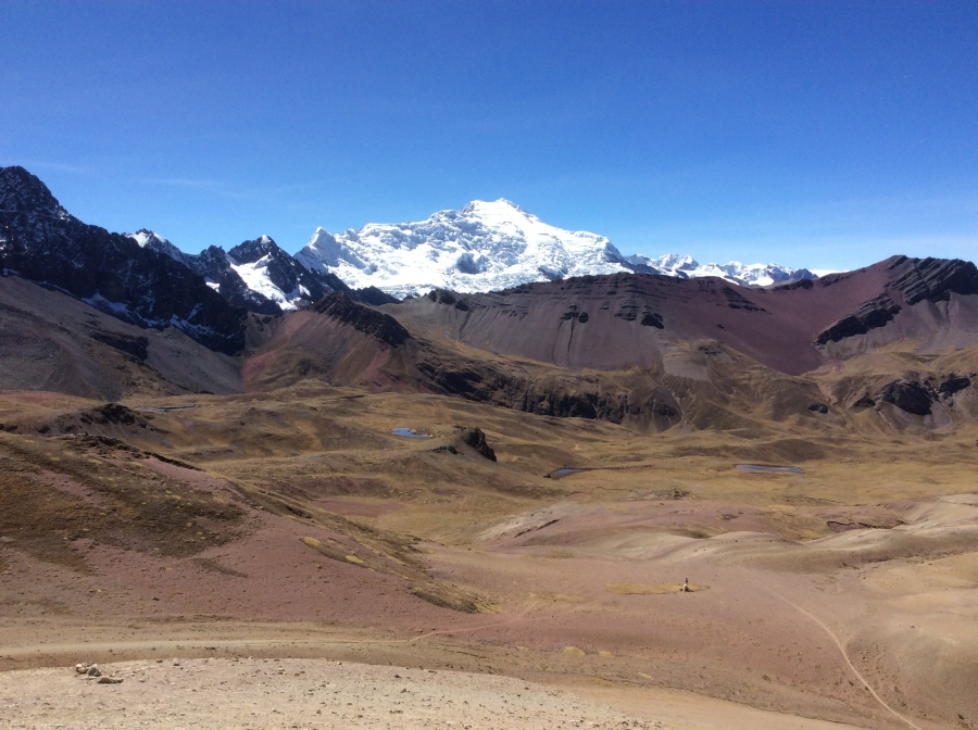 Ausangate hike rainbow mountain Peru in 4 days