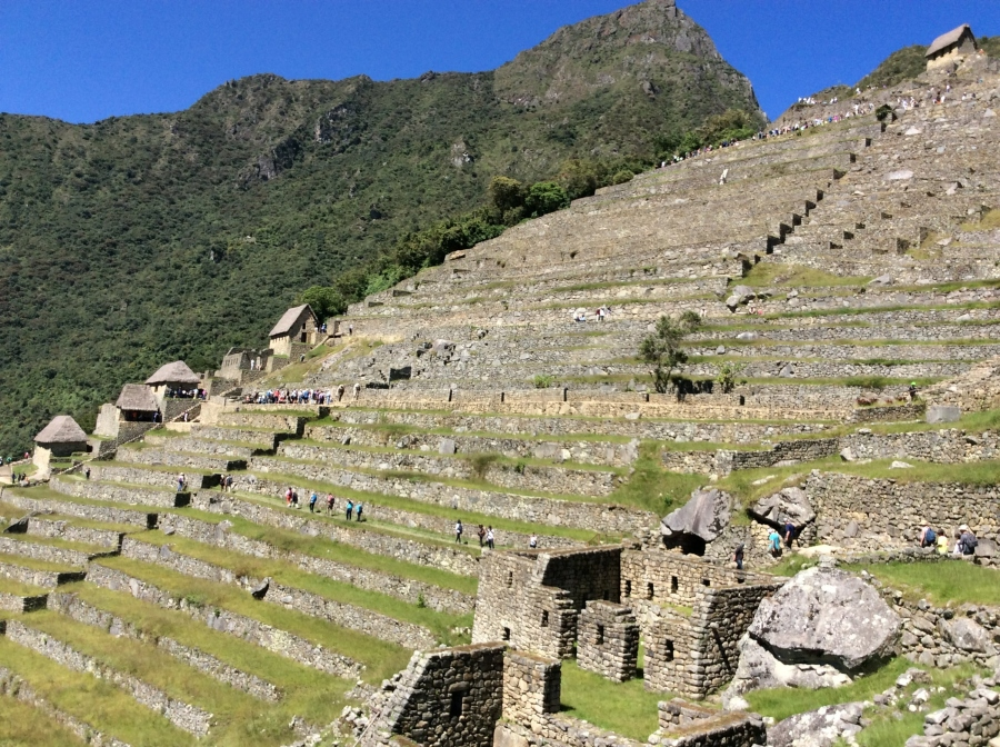 Machupicchu day trip from Cusco in Peru
