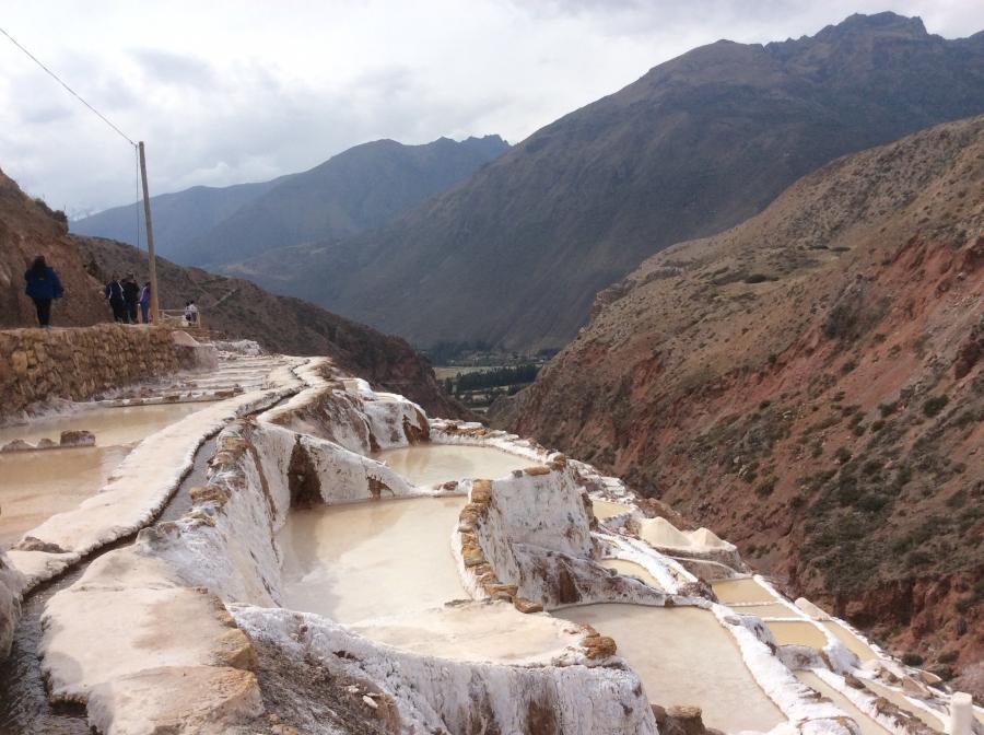 salt mine tour with experiental tourism Cusco Peru