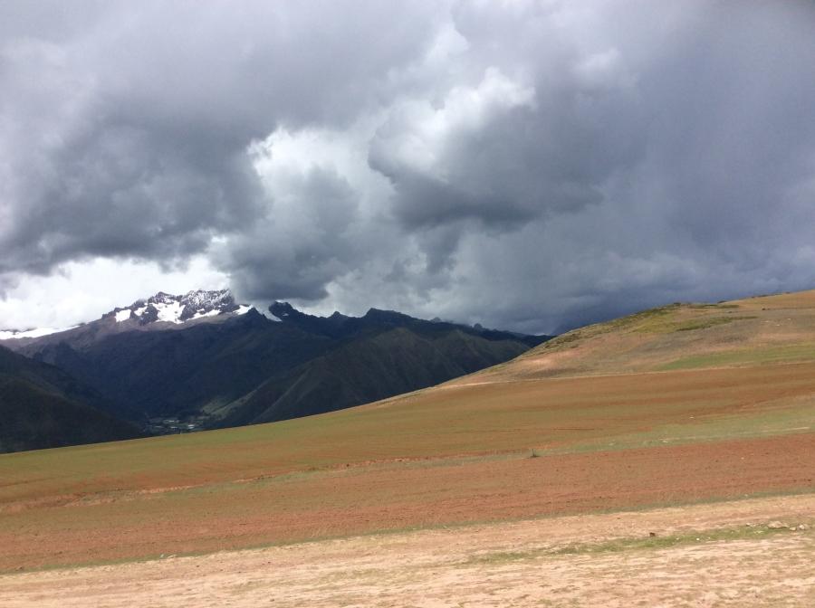 Maras fields farming Peru
